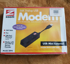 ZOOM 56K DIAL-UP USB MODEM-MODEL 3095(NEW SEALED BOX)