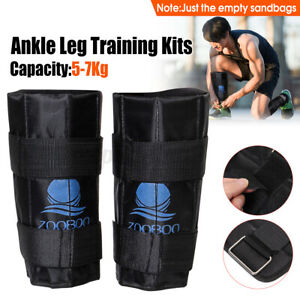 Zooboo 5kg~7kg Adjustable Ankle Leg Weight Gym Exercise Fitness Training Walking