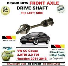 Para VW cc Coupe 2.0TDI 2.0Tdi 4motion 2011-2016 Nuevo Delantero Izquierdo Eje