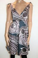 OJAY Brand Multi Colours Sleeveless Day Dress Size 12 #AN02