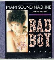 "MAXI 45T RPM MIAMI SOUND MACHINE Disque Vinyl 12"" BAD BOY REMIX - EPIC 12.6255"