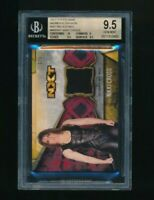 2017 Topps WWE Womens Division 1/1 Red Nikki Cross NXT BGS 9.5
