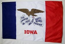 State Of Iowa Flag 3' X 5' Indoor Outdoor Banner