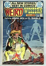 Weird Western Tales #13-1972 fn/vf 4th app Jonah Hex Neal Adams 2nd issue of tit