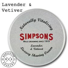 Los Simpson De Lujo Crema de Afeitar Lavanda y el vetiver (21847)