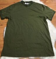 Topman Long Line T-shirt in Green size US M TOPMAN T SHIRT SIZE MEDIUM MENS