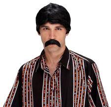 Morris Costumes Men's New Self Adhesive The Walrus Black Mustache. Pm531363