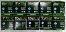 YAMAHA YZ250F (2003 to 2008) HIFLOFILTRO Filtro Olio (HF141) x 10 pezzi