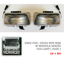 For 2005-2009 Isuzu Npr Nlr Truck Fog Lamp Spot Light W N Series Pair Set