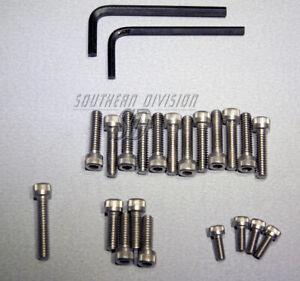 Motorschraubensatz V2A edelstahl Norton Commando 750 850 allen screw set engine