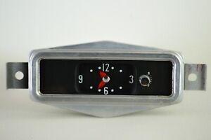 1956 Buick Roadmaster dash clock