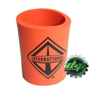 International harvester thick insulated soda coozie beverage drink holder diesel