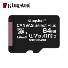 Kingston 64GB A1 MicroSD SDXC Class 10 TF Memory Card UHS-I 100MB/s Free Adapter