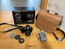 Olympus OM-D E-M10 Mark III 16,1MP Spiegellose Systemkamera - Schwarz Kit 14-42