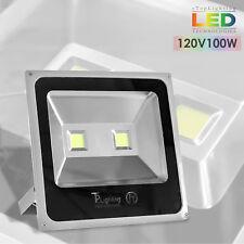 LED Flood Light Spot Indoor Outdoor Waterproof Lighting Lamp 100W Day White