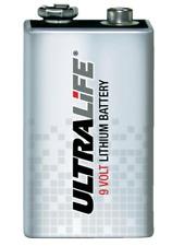 10x Ultralife Lithium 9V E-Block 6LR61 MN1604 6AM6 6LR61 Rauchmelder 1200 mAh
