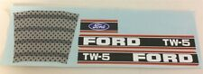 Ertl Ford TW-5 Pedal Tractor Replacement Sticker Set PT-003