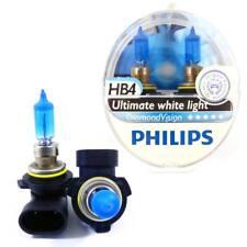Two Philips Diamond Vision 5000k Headlight Bulb HB4/9006 Authentic