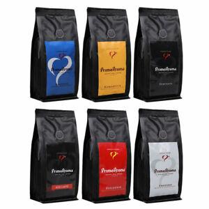 Kaffee 250g Probierset Primo Aroma Spezial Deal. 6 x Kaffeegenuss ganze Bohnen