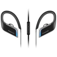 Auriculares Bluetooth Inalámbrico Panasonic Deportiva Impermeable con LED Azul-Negro