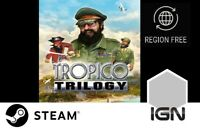 Tropico Trilogy [PC] Steam Download Key - FAST DELIVERY