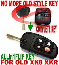 NEW STYLE FLIP CHIP KEY REMOTE FOR JAG XK8 XKR KEYLESS ENTRY FOB TRANSPONDER