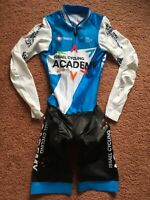 ISRAEL CYCLING ACADEMY LONG SLEEVE TT SKINSUIT TIME TRIAL S NALINI NEW cycling