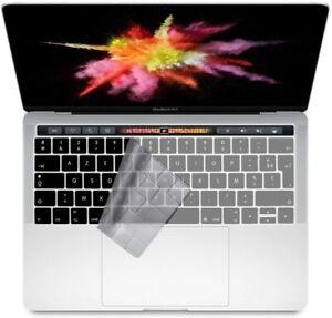 """Clavier Coque de Protection Couverture AZERTY pour MacBook Pro 13"""" /15"""" Touchbar"""
