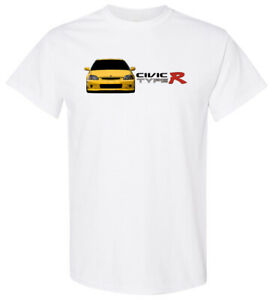 Honda Civic Type R Shirt Soft Sublimation Polyester Feels Like Cotton *READ*