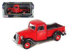 1937 Ford Pickup Truck - Red 1:24 Scale Diecast Model - 73233r *