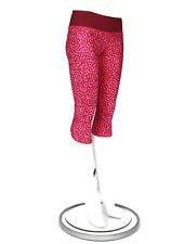 LULULEMON Run Top Speed Crop Legging Ace Spot Magenta Dashing Purple size 6 /750