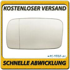 Spiegelglas für VW GOLF II / JETTA II 1987-1991 links Fahrerseite asphärisch