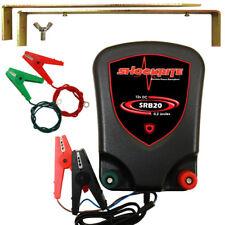 Electric Fence Energiser ShockRite SRB20 Battery Powered 12V 0.2J Fencer
