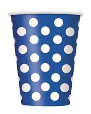 Decoración y menaje color principal azul de plástico para todas las ocasiones para mesas de fiesta