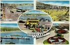B8842pac UK IOM Douglas Multiview vintage Tucks c1956 postcard