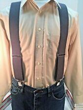 "New, Men's, Medium Gray, XXL, 54"",  2 "", Adj. Suspenders / Braces,  Made in USA"