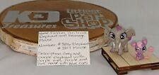 Littlest Pet Shop Fletcher Von Trunk #3816 and Fromage Mouse #3817 Authentic LPS