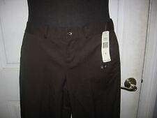 NWT Lauren Ralph Lauren High Rock Style Cropped Pants Size 2 Brown MSRP $89.50