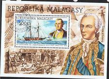MALAGASY 1976 AMERICAN BICENTENNIAL SOUVENIR SHEET