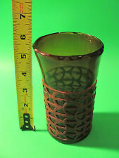 Vintage Looking Drinking Glass.