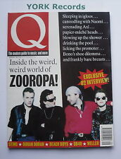 Q MAGAZINE - Issue 84 September 1993 - Zooropa / U2 / Sting / Duran Duran