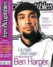 Les Inrockuptibles #18 -Ben HARPER- Offspring, Arles...
