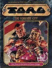 THE FOREVER CITY 20553 EXC+! Module TORG West End Games Relics of Power Trilogy