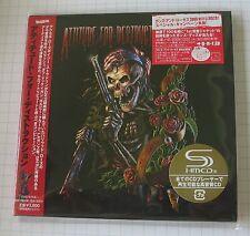 ATTITUDE FOR DESTRUCTION VA JAPAN MINI LP SHM 2CD NEU! UICY-94344/5