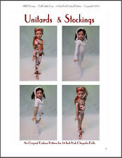 """Unitards & Stockings"" Pattern for Kish Chrysalis Dolls"