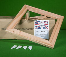 "38"" x 18mm Standard Canvas Pine Stretcher Bars, Value Pack ( 30 Bars Per Box )"