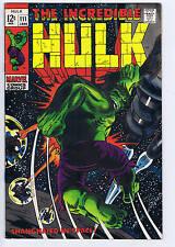 Incredible Hulk #111 Marvel 1969