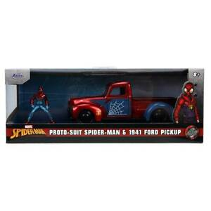 Jada Hollywood Rides: Proto-Suit Spider-Man & 1941 Ford Pickup 1/32 Scale