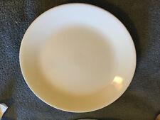 """2 - Corelle Winter Frost White Dinner Plates - 10 1/4"""""""