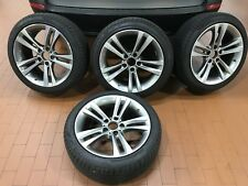 4 BMW F30 Oem 18inch Wheels Style 397 And Pirelli Cinturato Tires